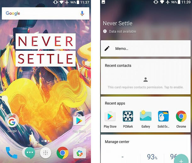 OnePlus 3T operating system